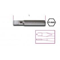 4 mm Einsätze für Schraubendreher für Schlitzschrauben