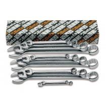 Ring-Maulschlüsselsatz Zoll, 13teilig (Art. 42AS)