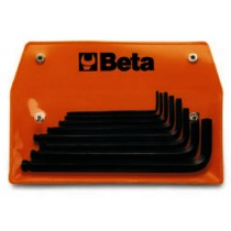 Sechskant-Stiftschlüsselsatz, 8teilig, Zollausführung