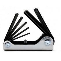 Sechskant-Stiftschlüsselsatz, 7teilig, gebogen (Art. 96N)