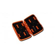 Elektronikschraubendrehersatz, 8teilig, für Torx®-Schrauben (Art. 1255TX), im Kasten