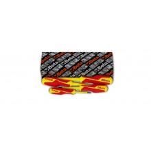 VDE-Schraubendrehersatz, 4teilig, für Pozidriv®- und Supadriv®-Schrauben (Art. 1279MQ)