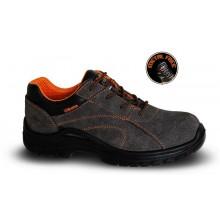 Schuhe aus weichem Wildleder, perforiert S1P SRC