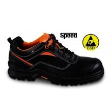 Schuh aus vollnarbigem Leder