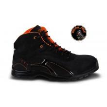 Schnür-Stiefel aus Spaltleder im Nubuck-Look S3 HRO SRC
