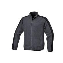 Fleece-Jacke mit Polyester-Einsätzen