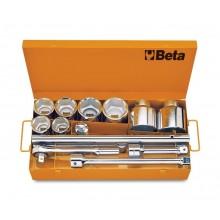 8 Sechskant-Steckschlüssel und 5 Betätigungswerkzeuge