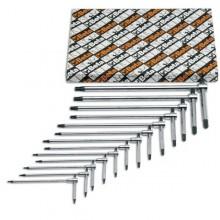 Stiftschlüsselsatz 6-teilig für Torx-Schrauben