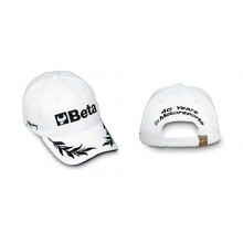 "Basebaldcap ""Motorsport"" weiß"