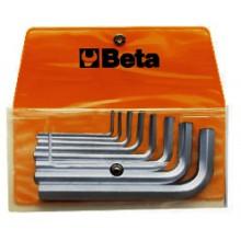 Sechskant-Stiftschlüsselsatz, 8teilig (Art. 96), in Tasche
