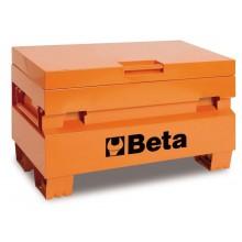 Werkzeugkasten für Baustellen, aus Blech