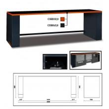 Werkbank 2,8 Meter lang für Werkstatteinrichtung