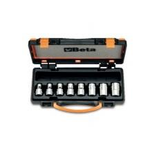 Steckschlüsselsatz, 8teilig, für Torx®-Schrauben (Art. 920FTX), im Kasten