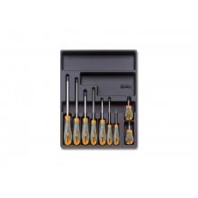 Fester Thermoformateinsatz mit Werkzeugsortiment 9-tlg.