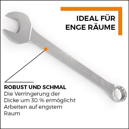Beta Tools - Ring-Maulschlüssel Slim