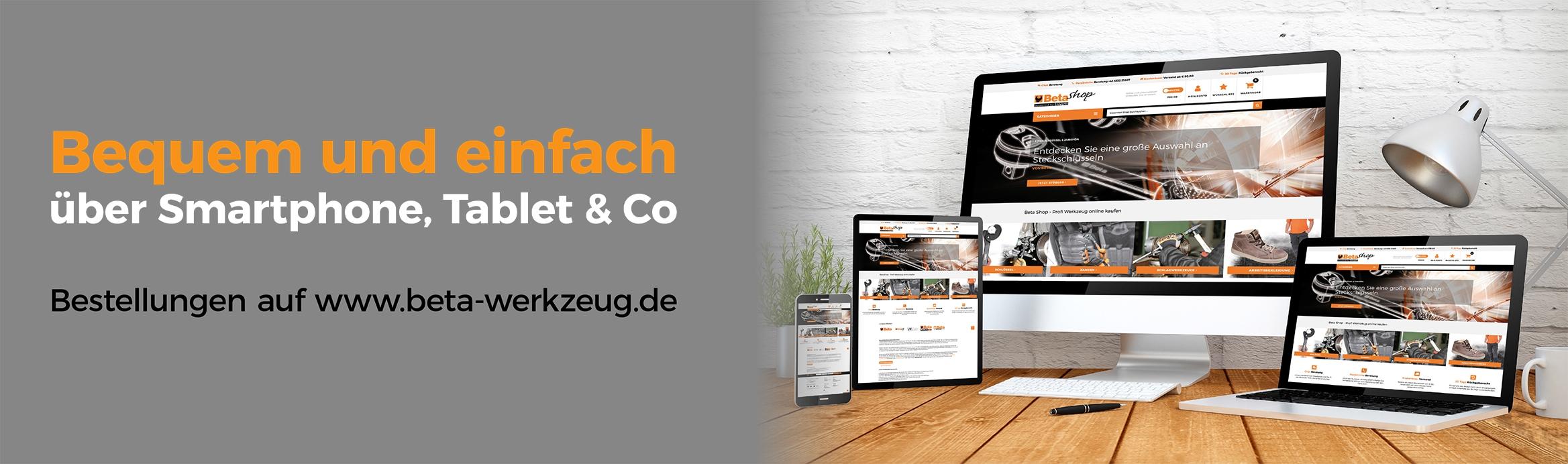 Bestellvorgang www.beta-werkzeug.de